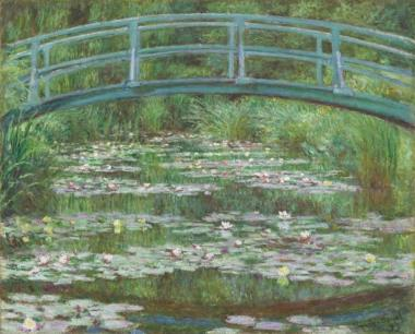 monet pont nymphéa
